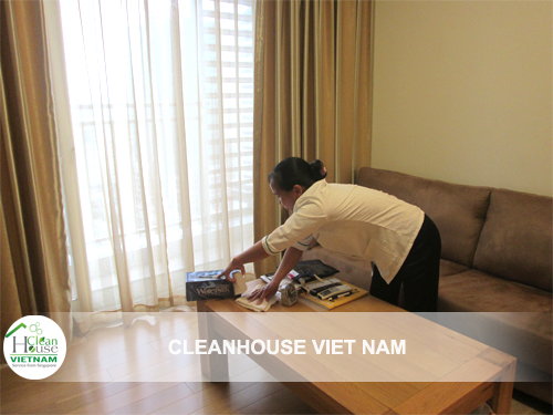 Dịch vụ vệ sinh công nghiệp Cleanhouse Việt Nam