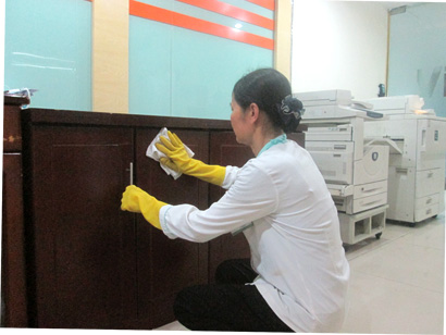 Dịch vụ vệ sinh văn phòng cleanhouse việt nam