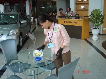 Dịch vụ vệ sinh văn phòng, tòa nhà, nhà máy của Công ty Linh Minh