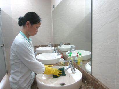 Hình ảnh: Dịch vụ tổng vệ sinh sau xây dựng số 4