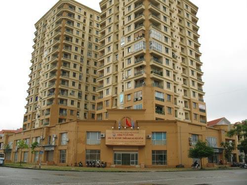 Cleanhouse làm dịch vụ bảo trì vệ sinh tại Chung cư E3-F4 Yên Hòa