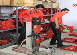 vệ sinh công nghiệp Cleanhouse Việt Nam làm dịch vụ vệ sinh tại công ty Hilti Việt Nam