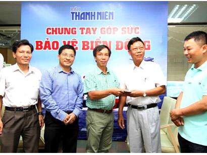 Hình ảnh: Công đoàn công ty Cleanhouse Việt Nam kêu gọi ủng hộ biển đảo số 1